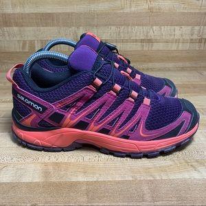 SALOMON XAPRO Purple/Pink Running Shoes 390443 sz6
